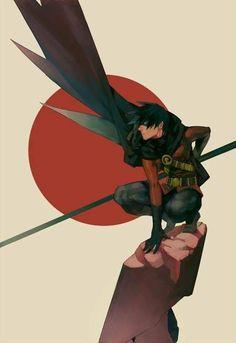 Tim Drake Robin from the Batman comics and cartoons Nightwing, Batwoman, Batgirl, Batman Y Superman, Batman Robin, Batman Arkham, Batman Art, Damian Wayne, Dc Comics Art