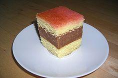 Punschschnitten 1 Vanilla Cake, Tiramisu, Cheesecake, Food Porn, Food And Drink, Cupcakes, Cookies, Desserts, Ethnic Recipes