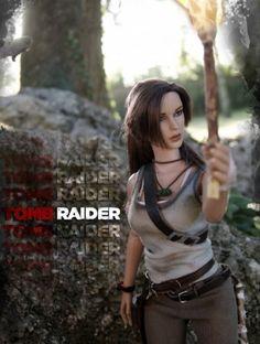 About Lara Croft TR 2013: Custom Lara Croft Tonner dollTomb Raider (2013)Lara dirty.