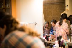 bridal party getting ready at bride's childhood home | Planned by Sixpence Events & Planning | Photo by Elliot Malcolm Minneapolis Wedding Photographer and Videographer