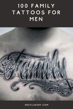 You've reached part two of the top 100 best family tattoos for men. Below you'll find even more masculine designs and cool ideas to explore.From realistic ink styles to the traditional form of lettering and more, I'm sure you'll find plenty of inspiration.  #nextluxury #tattooideas #tattoodesigns Good Family Tattoo, Family Tattoos For Men, Tattoos For Guys, Man Parts, Best Tattoo Designs, Tattoo Ideas, Ink, Lettering, Traditional