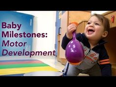Pediatrician Lisa Shulman shows the motor milestones expected in typically developing babies, from head control to  walking and what pediatricians look for during a well-baby visit. She also explains the specific types of motor control a baby must master before the next milestone can be achieved. #development
