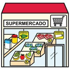Pictosonidos: En el  supermercado