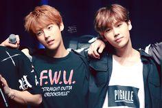 Minhyuk and Ilhoon ❤