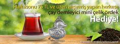 ofix.com'dan size özel demlik BEDAVA. Çayınız her zaman hazır olacak.