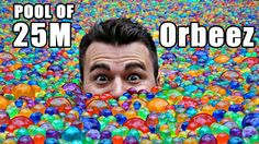 Kevin (aka The Backyard Scientist) and I filled a pool with 25 million waterballs (aka Orbeez) so I could settle an argument about how far you sink if you jump in. Go watch Kevin's video- FRE… Backyard Scientist, Backyard Water Games, Mark Rober, Cctv Camera Installation, English Caption, Sink Or Float, Tim Beta, Water Beads, Made Video