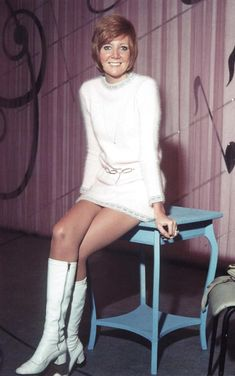 British singer Cilla Black - she came from Liverpool and was a close friend of the Beatles.