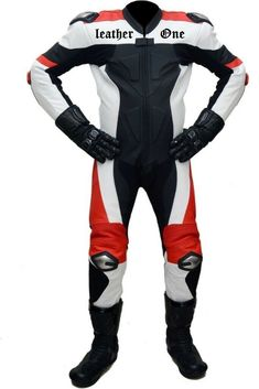 Motorbike Suit- Leather One Piece Suit Motorbike Jackets, Motorbike Leathers, Motorcycle Jacket, Biker Style, Jacket Style, Biker Fashion, One Piece Suit, Leather Jackets