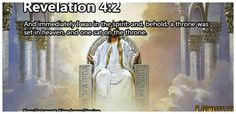 """""""JESUS CHRIST - THE KING OF KINGS""""  Revelation  4:2 And immediately I was in the spirit: and, behold, a throne was set in heaven, and one sat on the throne."""