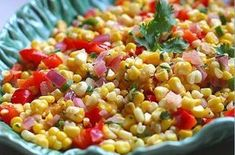 Stay salt free with Doc's Spicy Corn Salad! It's super easy to make too! Pulled Pork Recipes, Barbecue Recipes, Grilling Recipes, Cooking Recipes, How To Make Tomato Sauce, Tomato Sauce Recipe, Fresh Corn Salad, Corn Salads, Vegetable Salads