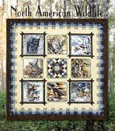 Alaska Wildlife Quilt