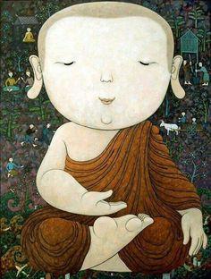 I am buddhist.