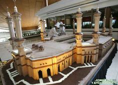 oh my goodness. I don't know what the purpose of this was, but this is beyond CakeBoss...Masjid ul Haram Cake!