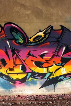 Clean as fuck. Those lines tho Graffiti Piece, Graffiti Words, Graffiti Pictures, Graffiti Tagging, Urban Graffiti, Graffiti Wall Art, Graffiti Drawing, Graffiti Painting, Graffiti Styles