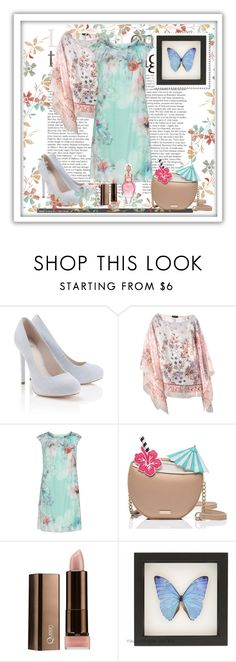 """""""Untitled #819"""" by misaflowers ❤ liked on Polyvore featuring Lipsy, Etro, KS Selection, Kate Spade and COVERGIRL"""