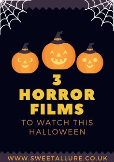 Lover of thriller and horror films? I've put together a few lesser known but brilliant horror films together for you to watch this halloween or on a spooky film night.  3 Horror Films To Watch This Halloween.