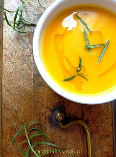 Zupa krem z batata z rozmarynem