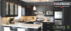 Rénovation et transformation d'armoires de cuisine et salle de bain   Armoire New Look