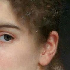 """William-Adolphe Bouguereau — """"Gabrielle Cot"""" (detail, 1890) William Adolphe Bouguereau, Real Man, Artist Art, Lady, Art Paintings, Minions, Masters, Portraits, Men"""