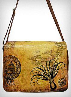 Victorian Octopus Messenger Bag | PLASTICLAND