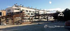 Montaje de estructuras de madera estilo tradicional en Valencia. by navarrolivier.com