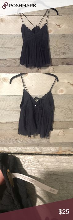 Free People Tank no defects other than a little pilling  Free People Tops
