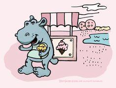 hippo like ice creams :)