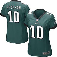 1c1a376f8 DeSean Jackson Philadelphia Eagles Nike Women's Game Jersey - Midnight Green