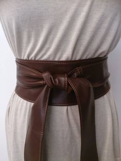 Hey, I found this really awesome Etsy listing at https://www.etsy.com/listing/161538893/brown-leather-obi-belts-sash-belts-tie