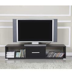 homcom tv stand for tvs up to 55 tv cabinets modern cabinets storage