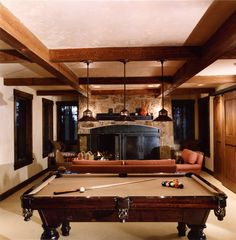 Telluride traditional family room