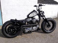 sportster bobbers | Harley Davidson Sportster Bobber For Sale Sportster bobber. fat foot