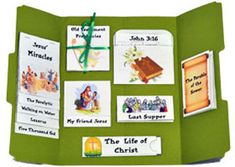 Free Easter Lapbook from Unit Studies by Amanda Bennett