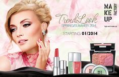 Make Up Factory Trend Look Spring Summer 2014