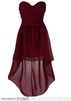 burgundy dress; love the style of dress maybe purple or pink would be better