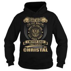 CHRISTAL Last Name, Surname T-Shirt