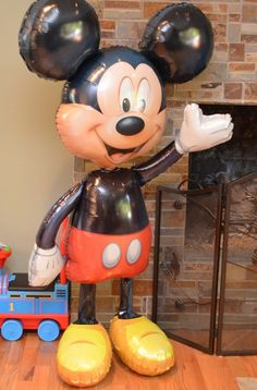 Mickey Mouse Birthday Party - Mickey Mylar Walker Balloon