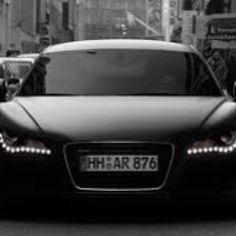 Dark and mysterious Audi  R8