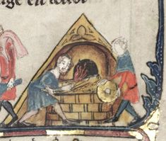 Baking Bread in a Reconstructed Bread-Oven of the Late Iron Age - Medievalists.net, link to pdf file.
