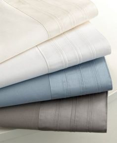 600 Thread Count Sateen Sheet Sets - Sheets - Bed & Bath - Macy's, in grey. $79.99