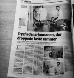 News in the local Viborg paper. This time with my son Sigurd   #viborg #viborgfolkeblad #avis #newspaper #son  #family #worklife #worklifebalance #quest #for #balance #amovapparel #organic #organicfashion #sigurd #startuplife #startup #slowlybutsurely #familymatters #eis #hilligsoe