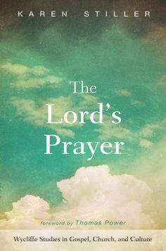 The Lord's Prayer (EDITED BY Karen Stiller; FOREWORD BY Thomas Power; Imprint: Wipf and Stock). Close our eyes and most of us can recite the Lord's Prayer by heart. It is as familiar as childhood memories. In some church traditions, we say the prayer together nearly every week, as a community standing before God. We call on those so familiar words and the comfort and direction they offer. The comfort that God is holy, that his kingdom is coming, that he provides just enough, and...