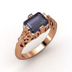 Rose Gold Filigree Ring.    Only thing I would change is the stone to my birth stone.