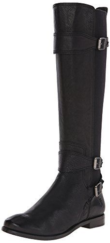 FRYE Women's Anna Gore Tall-BLFLE Riding Boot,  Black, 10 M US ** You can find more details by visiting the image link.