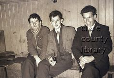 Three young men at social gathering in Ennistymon Town Hall. (L-R): Michael Hayes; Michael Hayes, Christmas Dance, Young Men, Town Hall, Movies, Movie Posters, Fictional Characters, Relationships, Film Poster