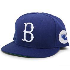 Brooklyn Dodgers Authentic Cap w 1955 World Series Logo Gorras df00b0247a6