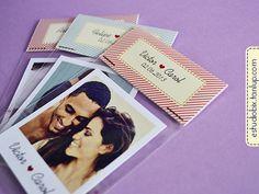 R$ 45.00!  GENIAL! 12 fotos Polaroids Casal com imã - Estúdio Bix