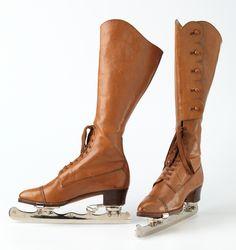 1901-1903 ice skates - wow.