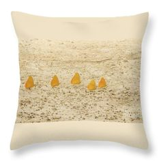 Throw Pillow featuring the photograph Butterflies In A Row II by Silvia Bruno