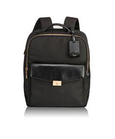 6d975bfb55ef Look what I found on Tumi.sg Laurel Backpack Black Black Backpack